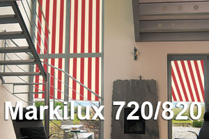 Markilux 720 and 820