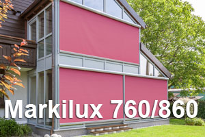 Markilux 760 and 860