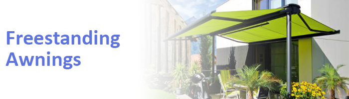 To view our freestanding awnings, click here