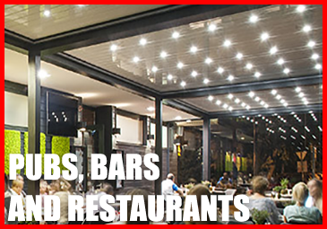 View our shading and shelter for pubs bars and restaurants here