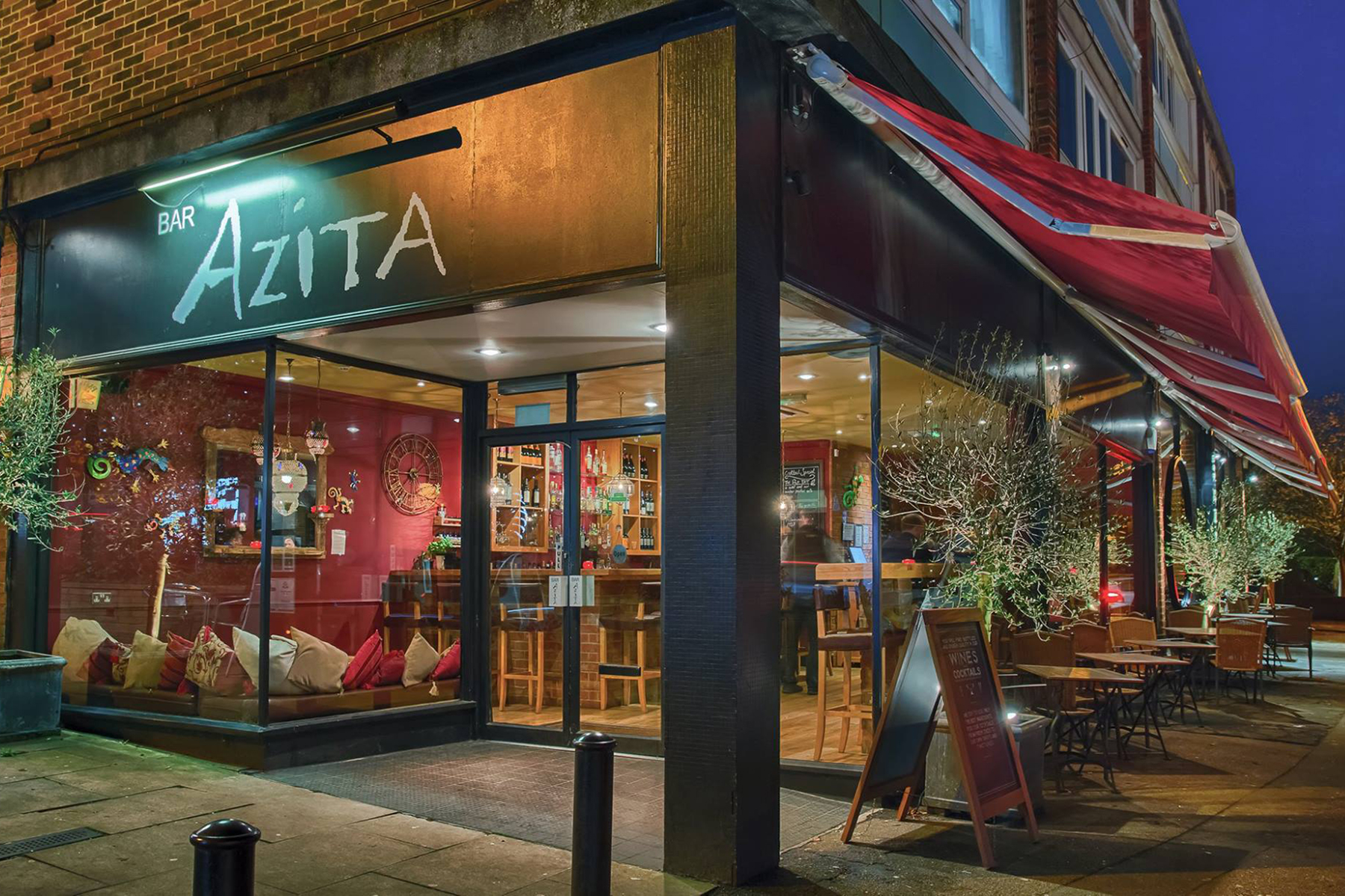 Bar Azita Awning