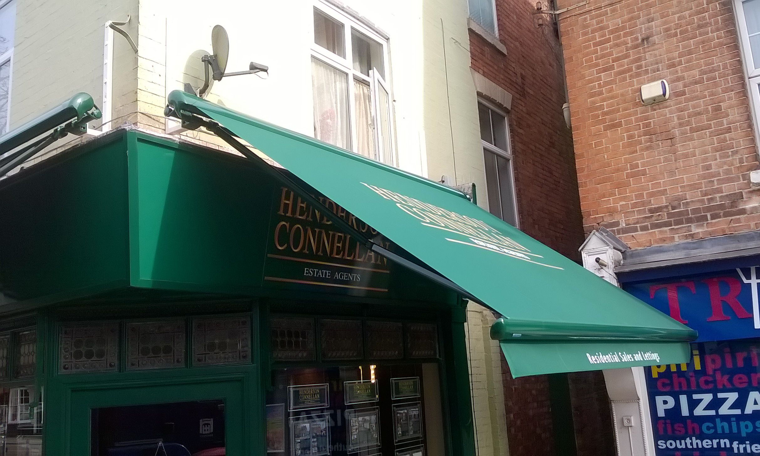 Estate Agents Awning