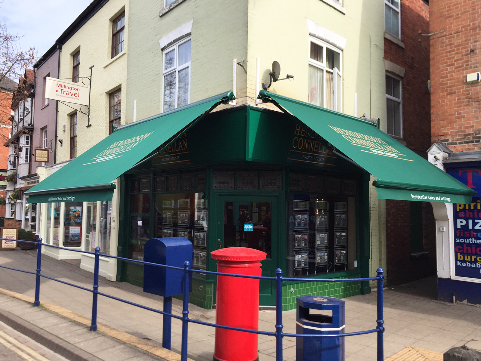 Retractable Shop Awning