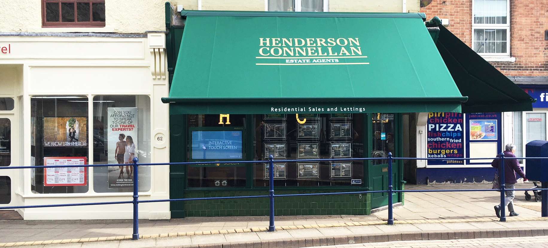 Henderson Conellan retail awnings