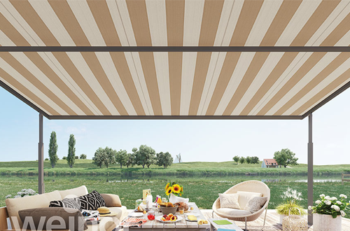 The Plaza Viva is an innovative awning by Weinor