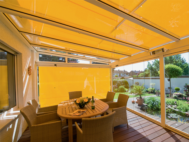 Weinor Glass Room with Awning